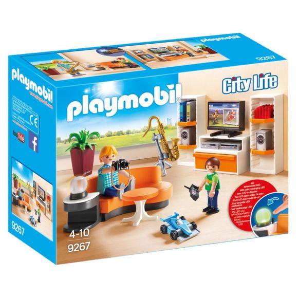 Playmobil Salon Maison Moderne