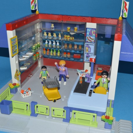 Playmobil chantier le bon coin