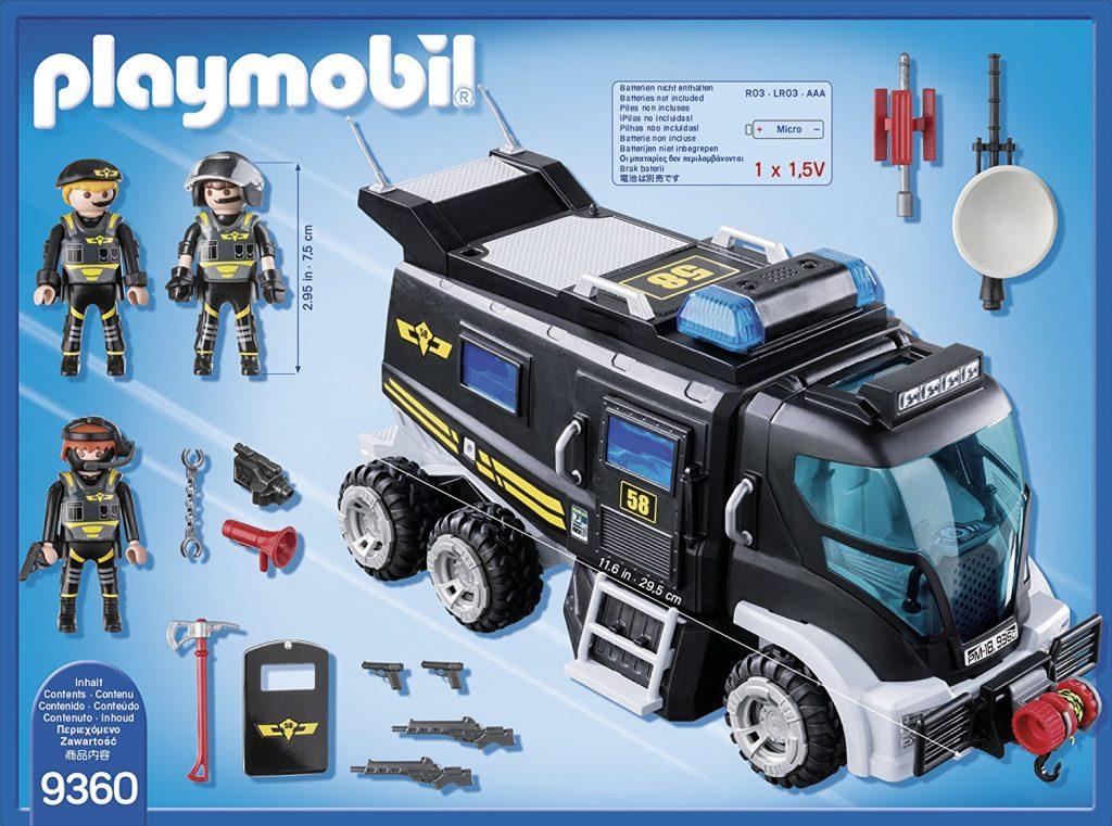 Playmobil police fourgon