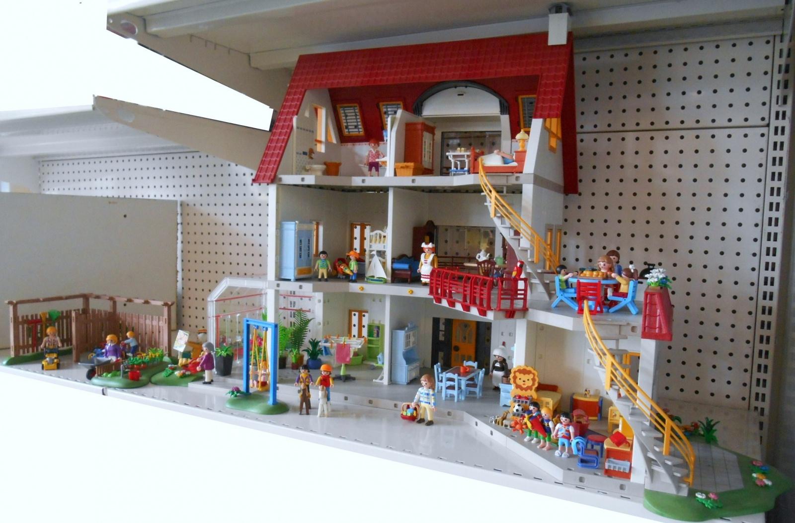 Playmobil Maison Moderne 4279 : Playmobil maison moderne extension stepindance