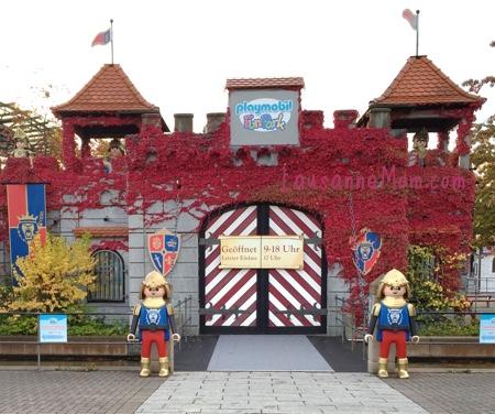 Playmobil fun park acces