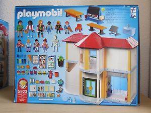 Playmobil ecole en français
