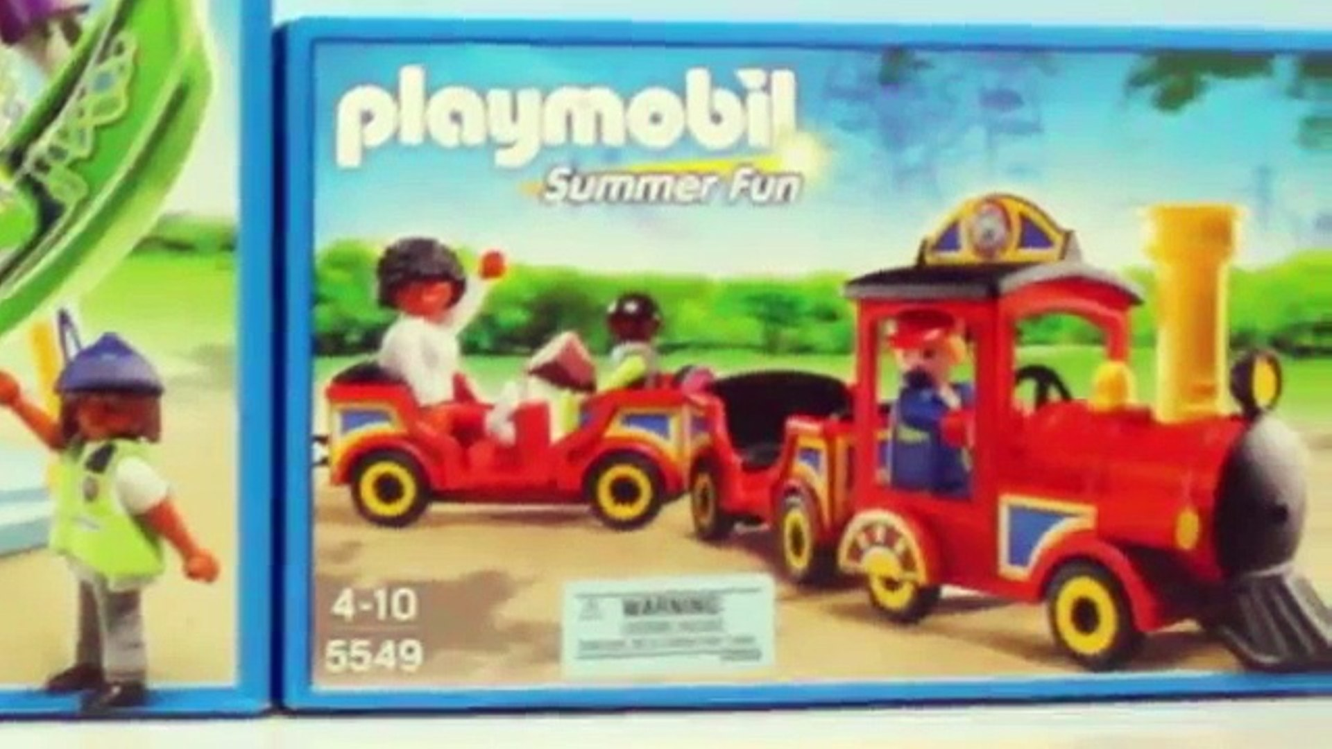 Playmobil 5549 summer fun amusement park children's train