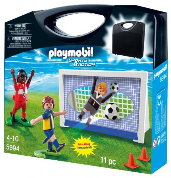 Playmobil football goal