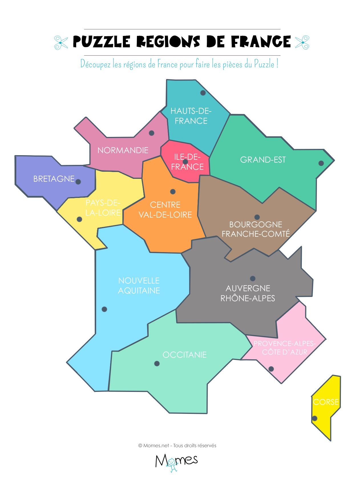 Puzzle Carte Du Monde à Imprimer Stepindancefr