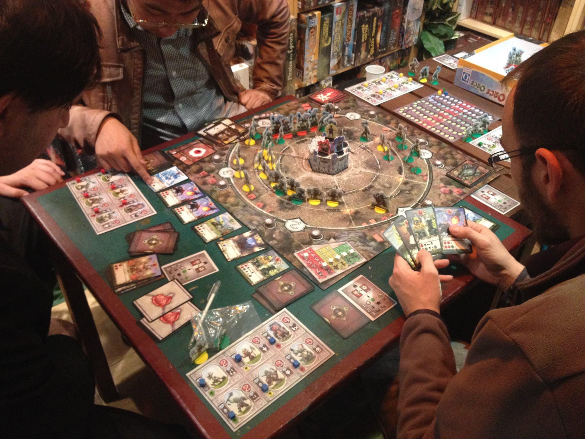 Bar paris jeux de societe