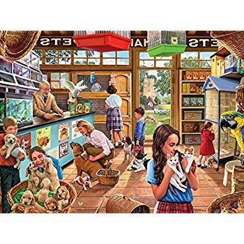 Puzzle pet shop