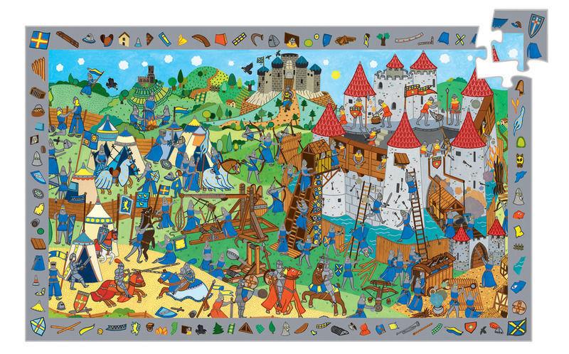 Puzzle observation djeco 54 pieces
