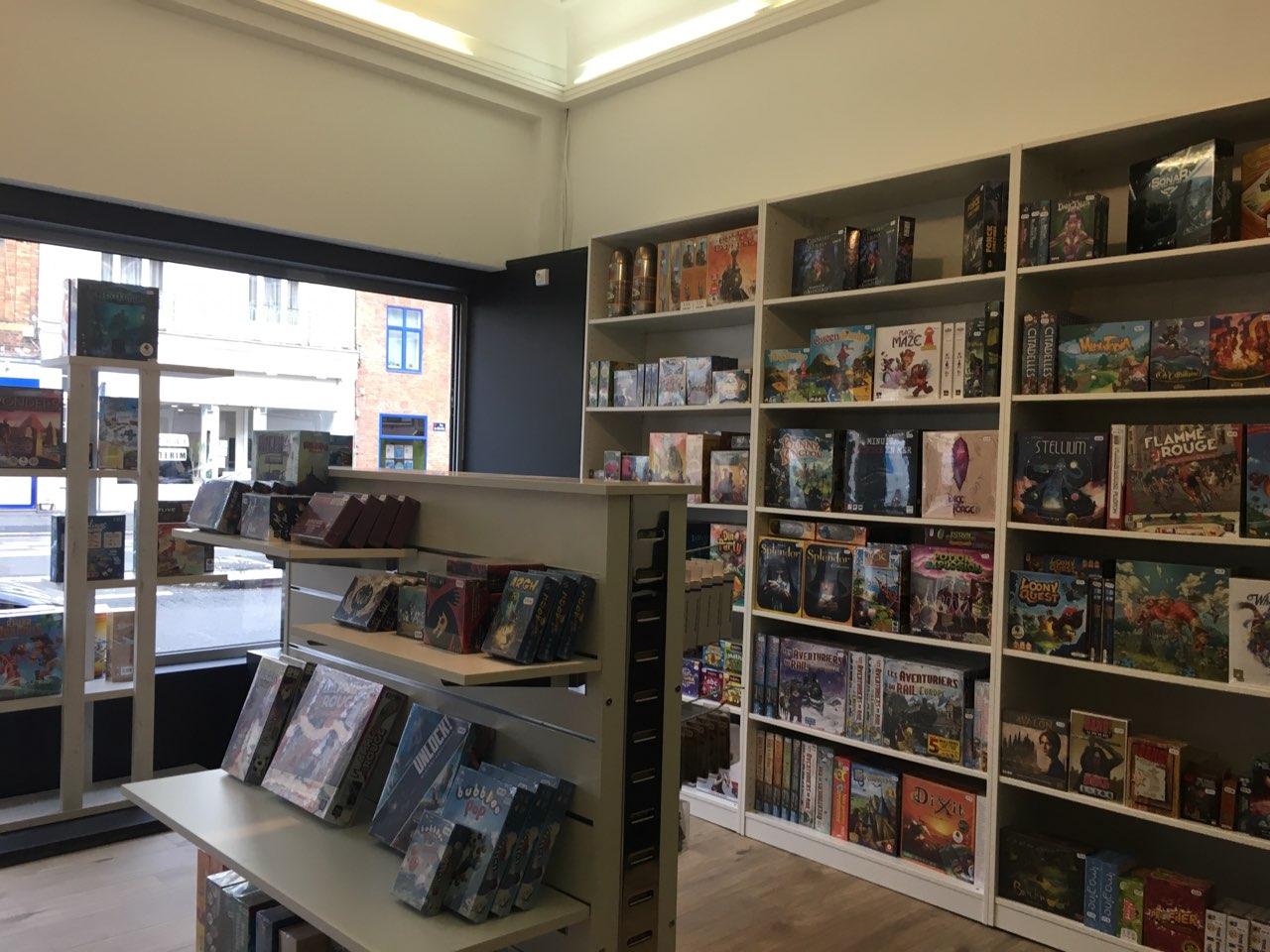 Boutique jeux de société lille