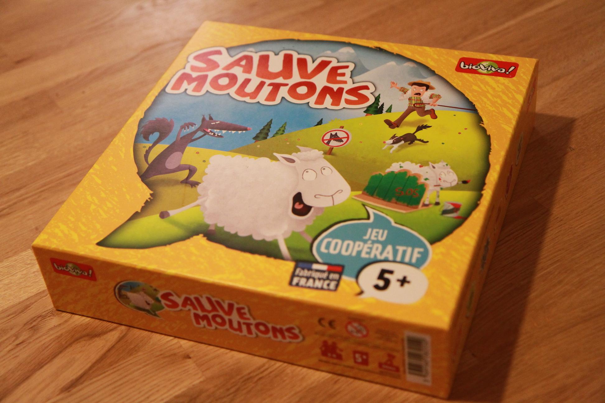 Jeux de société saute mouton