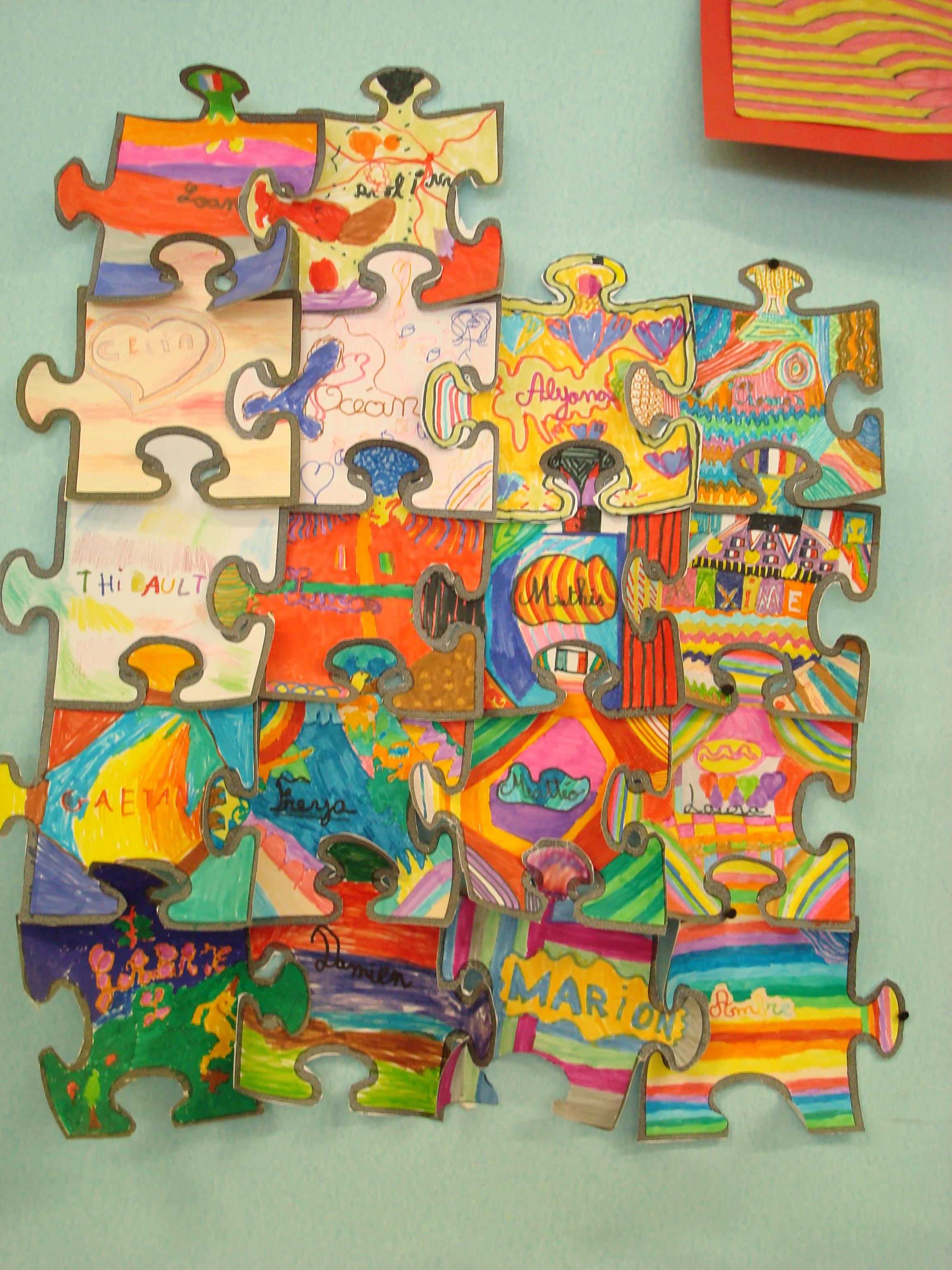Le puzzle de la classe
