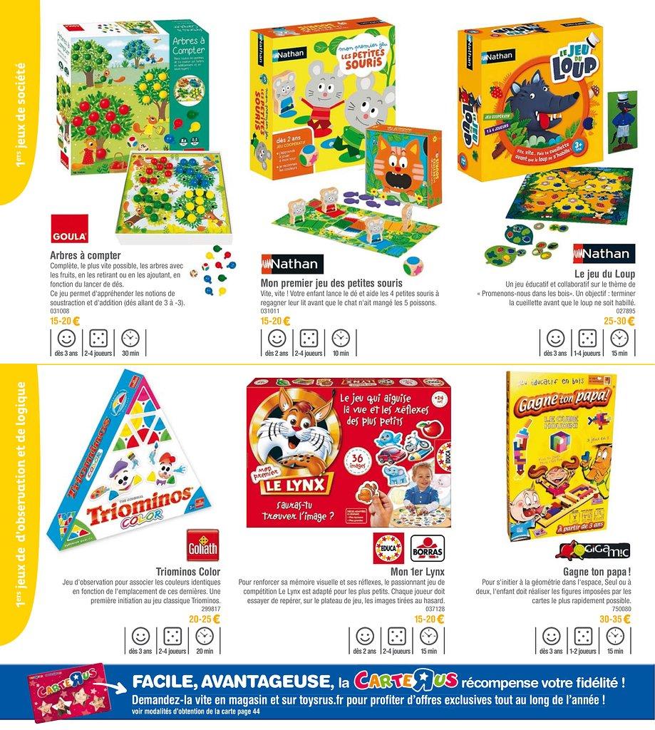 Catalogue de jeux de societe
