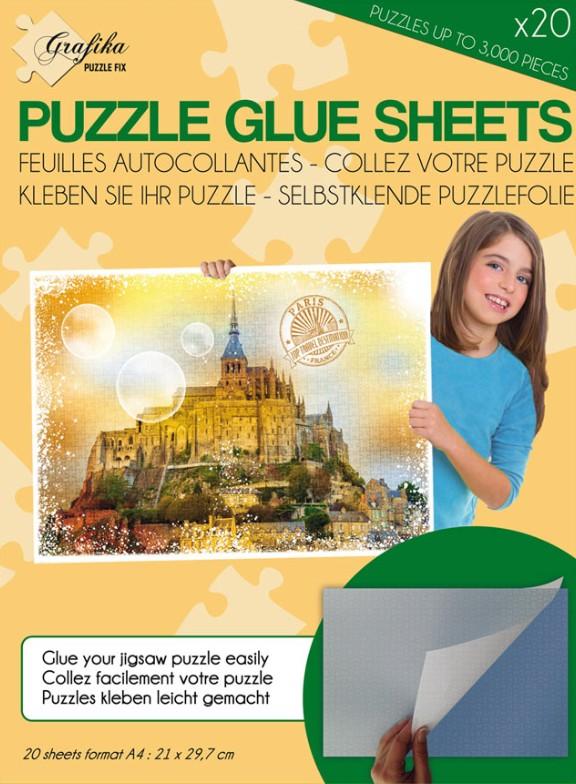 Colle pour puzzle sur bois