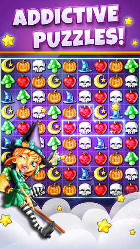 Witch puzzle game