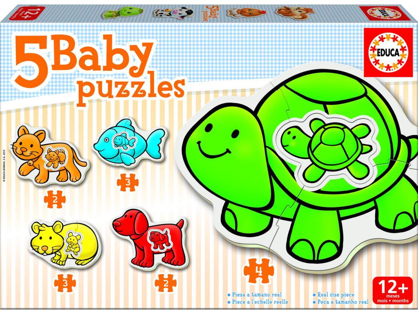 Puzzle 12 mois
