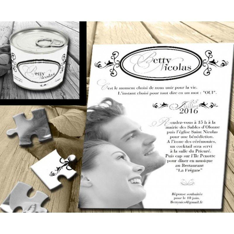 Puzzle pour mariage