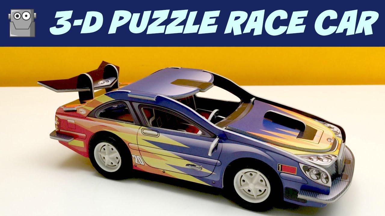 3d puzzle car