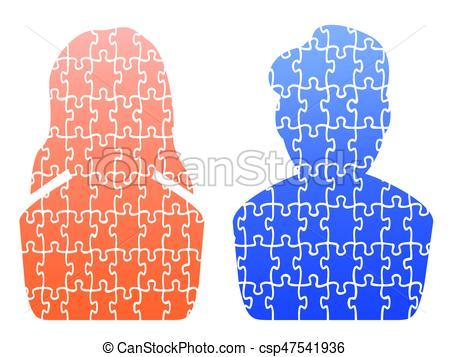 Puzzle humain