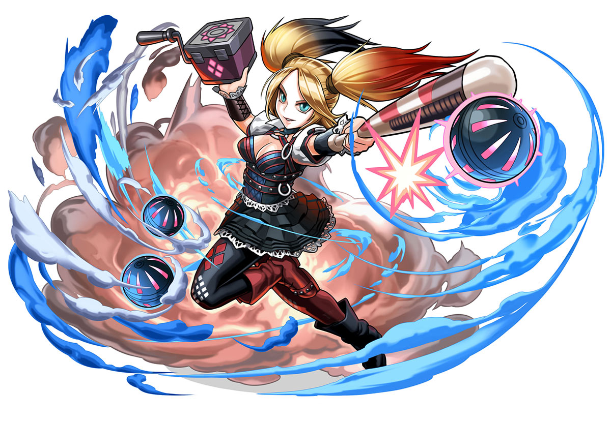 Puzzle and dragons characters