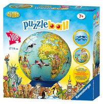 Puzzle globus