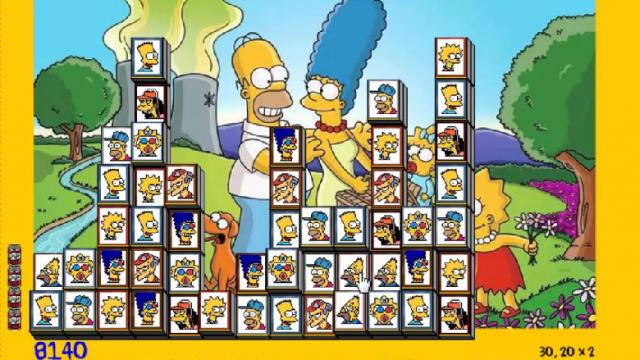 Jeux de puzzle de simpson